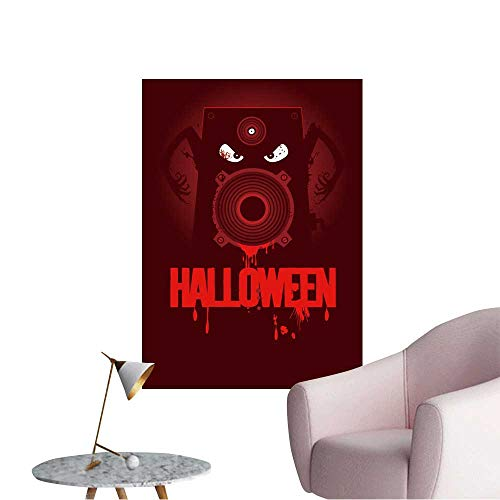 Wall Decorative Halloween Party Design with Wicked Bloody Speaker,rasterized Version. Pictures Wall Art Painting,24