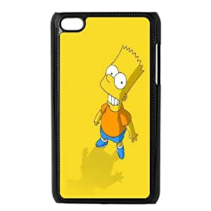 DIY Printed The Simpsons hard plastic case skin cover For Ipod Touch 4 SN9V093510