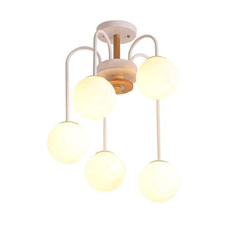 Industrial Retro 5 llama Lámpara de techo Colgante de luz Rústico ...