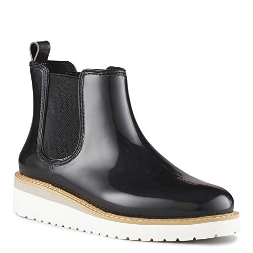 Cougar Women's Kensington Chelsea Boot, Black/White - 11 B(M) US
