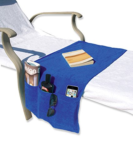 O2COOL Boca Chaise Organizer, Blue
