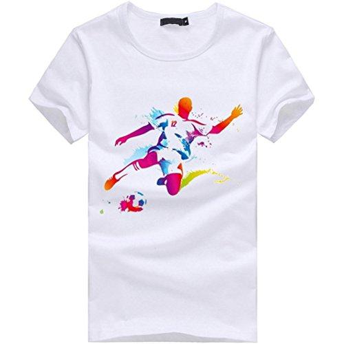 c Donna Ballerine SANFASHION Bianco Damen Bianco Bekleidung Wei SANFASHION Shirt145 wInUBTXnz