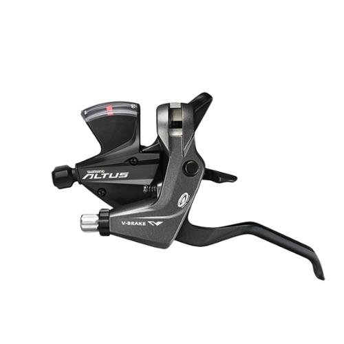 Shimano Altus St-M370 3x9-Speed Brake/Shift Lever Set Black