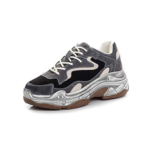 E Un Suola Stringate Primavera Donna Yan Scarpe Sneakers Con Allenamento Da Ginnastica Casual Novità Basse Cross Spessa Fitness AqxSFw