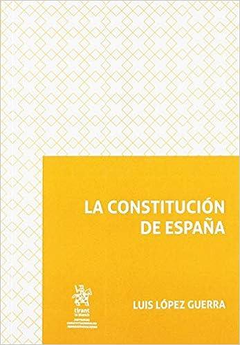 La Constitución de España Sistemas Constitucionales Iberoamericanos: Amazon.es: López Guerra, Luis: Libros