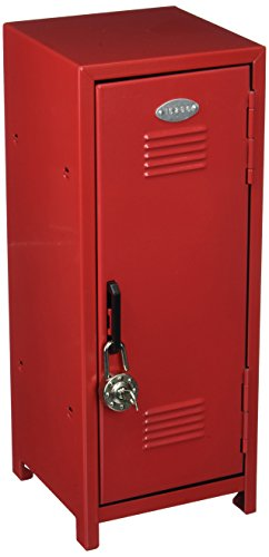 1 XASSORTED COLOR Mini Metal Locker Assorted Color