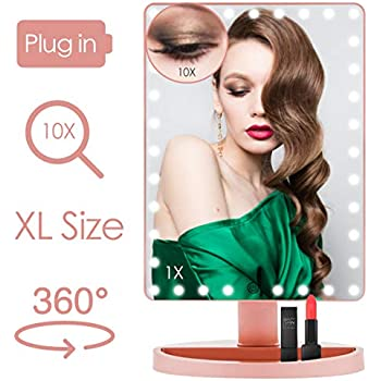 Amazon Com Extra Large Lighted Makeup Mirror Makeup