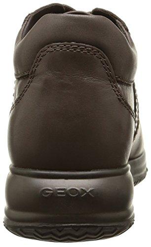 Geox D Happy C - Zapatillas de Piel para mujer Dove Grey