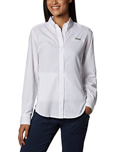 Columbia Women's PFG Tamiami II Long Sleeve Shirt , White, Small ()