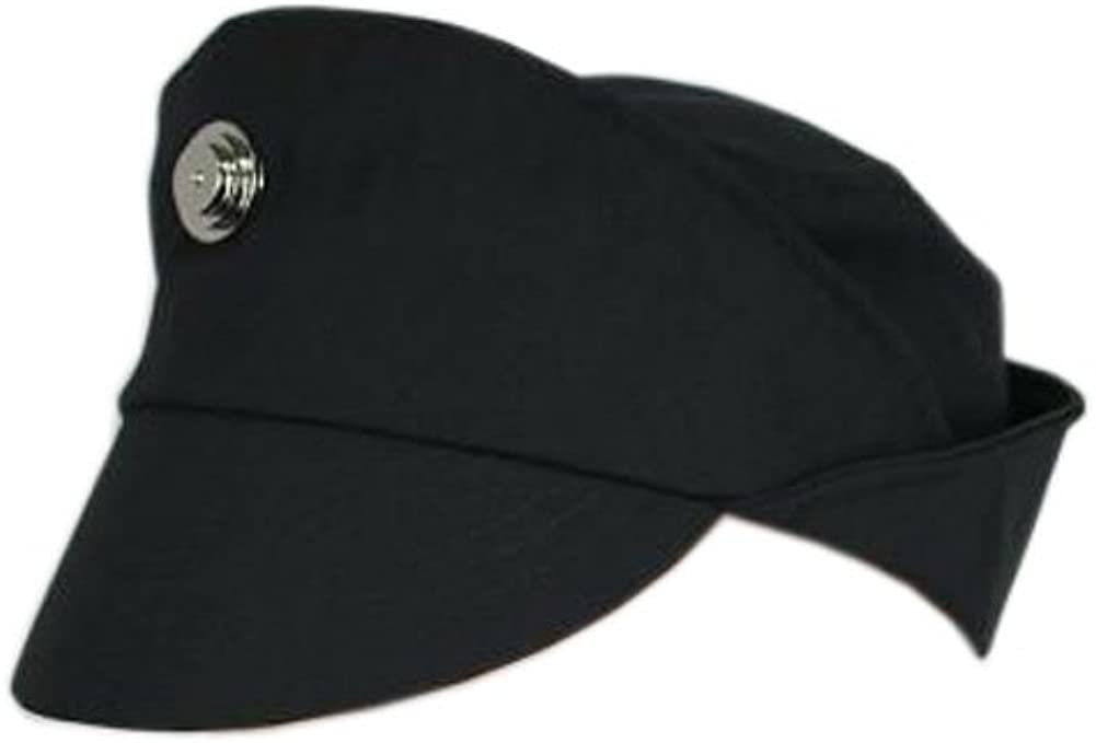 Star Wars Imperial Officer Cap Hat Wear Costume Black Grey Green Color/Size