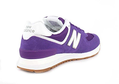 New Balance Womens 574v2 Sneaker Purple Mountain / Overcast 679