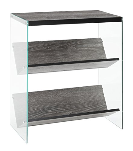 Convenience Concepts Soho Bookcase, Weathered ()
