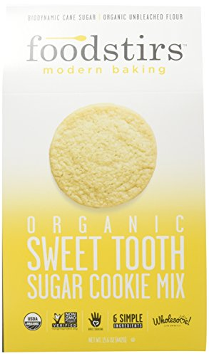 Foodstirs Organic, Non GMO Sweet Tooth Sugar Cookie Mix 15.6 Ounce, (Pack of - Sugar Cookies Bakery
