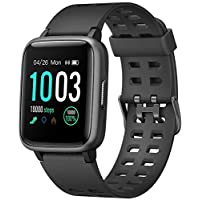 Amazon.com deals on Letscom Smart Watch Fitness Tracker with Heart Rate Monitor