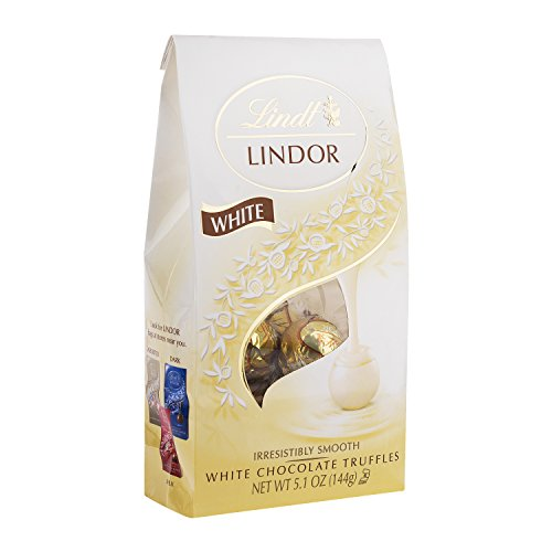 Lindt LINDOR White Chocolate Truffles, 5.1 Ounce
