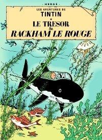 Tintin Tintin Postcard - Le Tresor de Rackham le - To Send Usa Gift Card