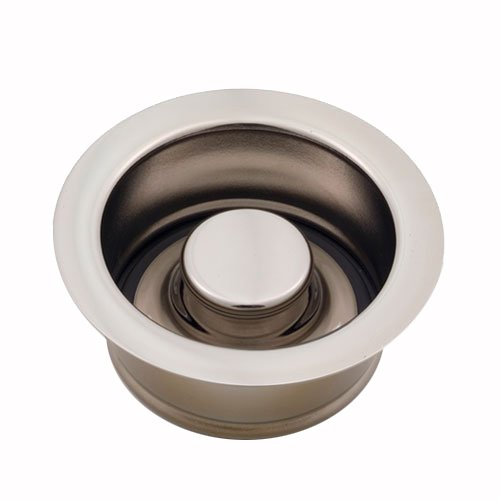 Jaclo 2815-PEW Disposal Flange with Stopper, Pewter by Jaclo