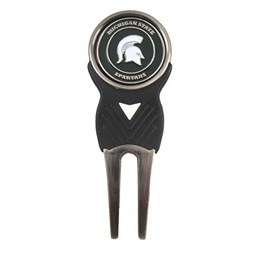 Michigan State Spartans Divot Tool with Double Sided Golf Ball ()