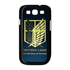Attack On Titan Samsung Galaxy S3 9300 Cell Phone Case Black Phone Accessories SH_803479