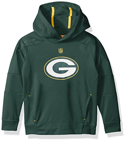 Outerstuff NFL Youth Green Bay Packers Mach Pullover Hoodie Green