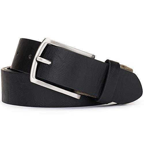 Tanpie Braided Elastic Belts for Men Adjustable Stretch Strap (Black XL) by Tanpie