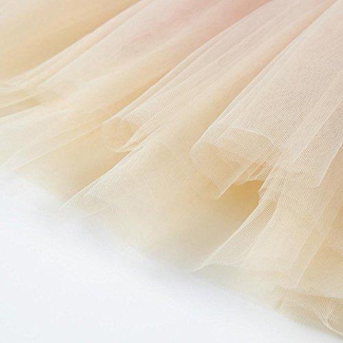 IGEMY Kinder Baby Mädchen Mode lässig Prinzessin Langarm Mesh Kleid, Liebe dich mein Baby Pink