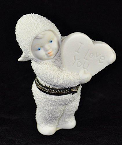 - Snowbabies Dept. Department 56 Sweetheart - Bisque Hinged Box