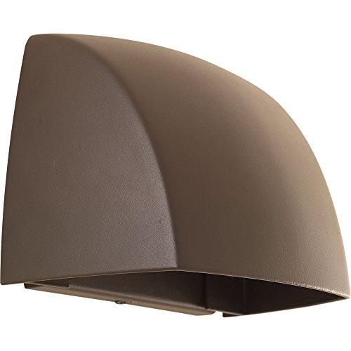 Progress Lighting P5634-2030K9 Cornice One-Light Wall Sconce w/HAL AC LED Module, Antique Bronze