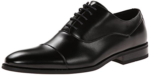 Kenneth Cole Unlisted Men's Half Time Oxford, Black, 10 M US
