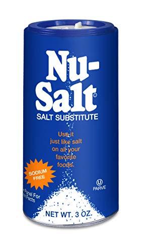 Nu Salt, 3-Ounce Shaker (12 Count) (The Best Salt Substitute)