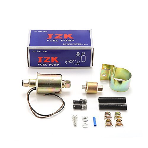 JZK 11001-0221 GA8012S E8012S FD0002 P60430 EP12S 6414671 US-SA-AJD-301684 a17012000ux0040 JSD-CSTK-274B rand New Universal 12V In-Line In-Tank Electric Fuel Pump With Installation Kit GA8012S by FLYING USA