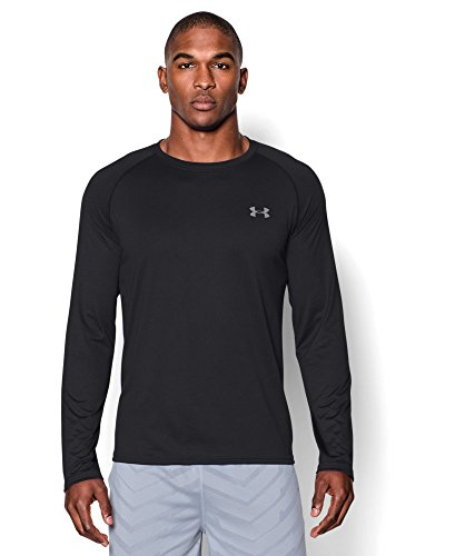 under-armour-mens-tech-long-sleeve-t-shirt-black-steel-small