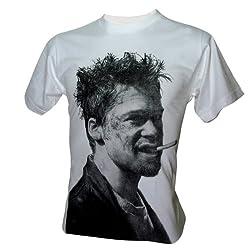 Brad Pitt Fight Club Film T-Shirt
