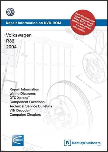 Volkswagen R32: Repair Manual 2004: Volkswagen of America: 9780837613178:  Amazon.com: BooksAmazon.com