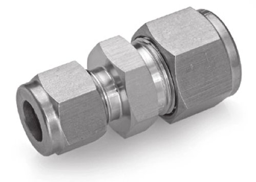 (Ham-Let Stainless Steel 316 Let-Lok Compression Fitting, Adapter, 3/8