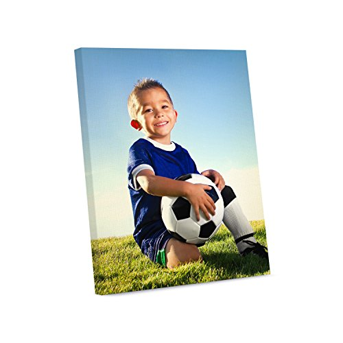 Picture Wall Art Your Photo or Art on Custom Canvas Print 8 x 10 Stretched over Standard Wooden Frame (Photo Canvas)