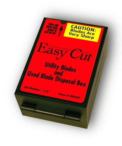 60 Count Heavy Duty Replacement Blades for Easy Cut Serie...