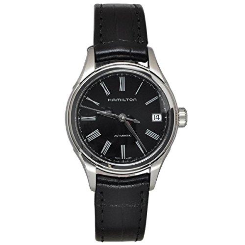 ساعت مچی مردانه همیلتون مدل H39415734 با بدنه استیل و بند چرمی