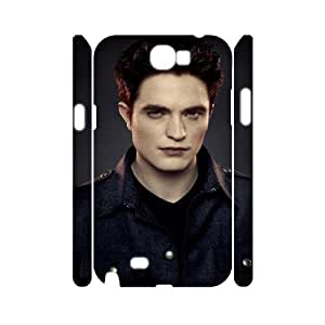 QSWHXN Edward Cullen Customized Hard 3D Case For Samsung Galaxy Note 2 N7100