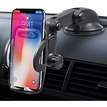 Galaxy Note 8//9//S10 MOWASS Universal Gravity Car Phone Mount,Cell Phone Holder for Car Vent Compatible iPhone Xs//X//XR//8//7 Google Pixel,All Smartphone