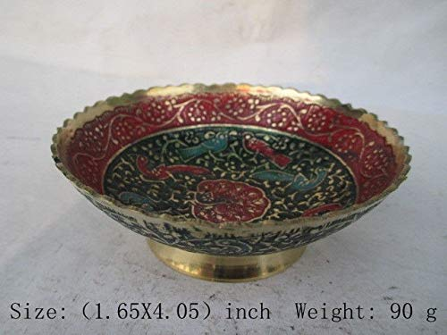 Bowl Cloisonne - ZAMTAC The Ancient Chinese Classic Cloisonne Bowl of lace