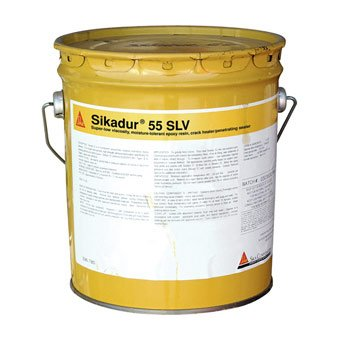 - Sika, Sikadur 55 SLV - 2 Component, 3 Gallon Unit, Epoxy Resin
