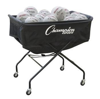 Champion Sports Pro Collapsible Volleyball Cart