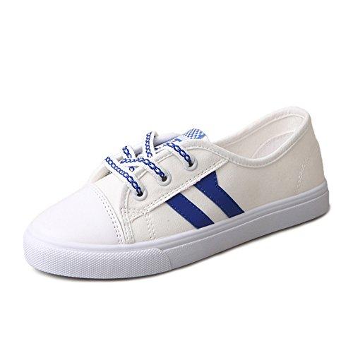 Flache Leinenschuhe,Weibliche Studenten Koreanisch Version Hundert,Atmungsaktiv Casual Schuhe,Kleine Weiße Schuhe A