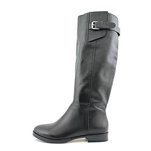 INC International Concepts Frauen Coco Pumps rund Leder Fashion Stiefel Black