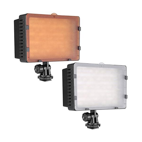 Neewer Pannello LED 160pcs da Potenza Ultra Alta Regolabile per Camera Digitale/Videocamera Video Luce/Luce LED per… 7 spesavip