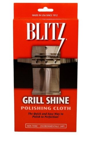 Blitz Grill Shine Polishing Cloth