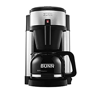 BUNN NHS Velocity Brew 10-Cup Home Coffee Brewer made by BUNN