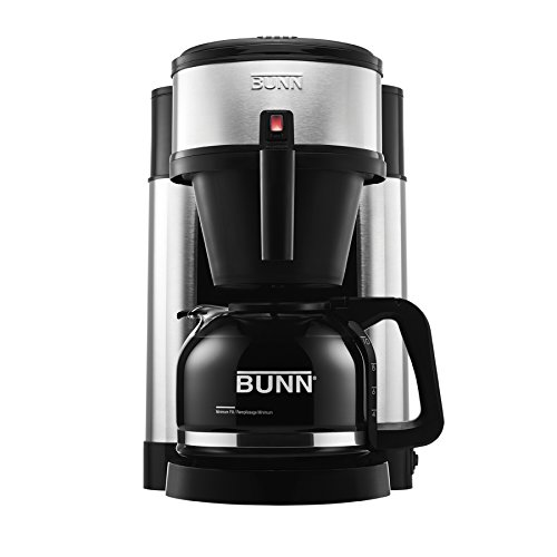 BUNN NHS Velocity Brew 10-Cup Home Coffee Brewer (Water Machines Extraction)