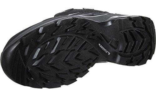 Lowa Sesto GTX Lo, Stivali da Escursionismo Alti Uomo Nero (Schwarz/Grau 9930)